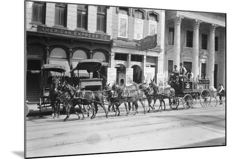 Budweiser Beer Wagon--Mounted Photographic Print