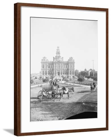 Building in Salt Lake City--Framed Art Print