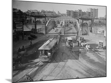 View of Victoria Bridge--Mounted Photographic Print
