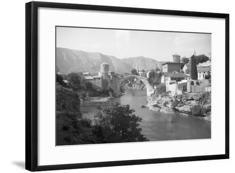 View of Turkish Bridge--Framed Art Print