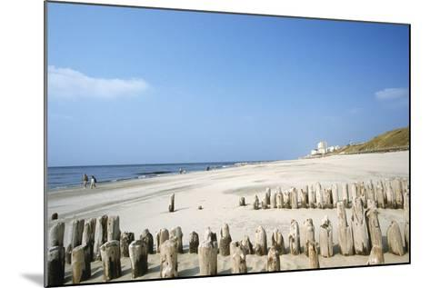 Sylt Beach-Hans Georg Roth-Mounted Photographic Print