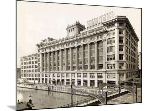 Exterior View of Gimbels Department Store--Mounted Photographic Print
