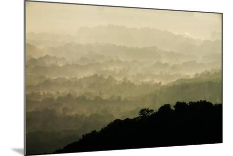 Skyline Drive, Shenandoah National Park, Virginia--Mounted Photographic Print