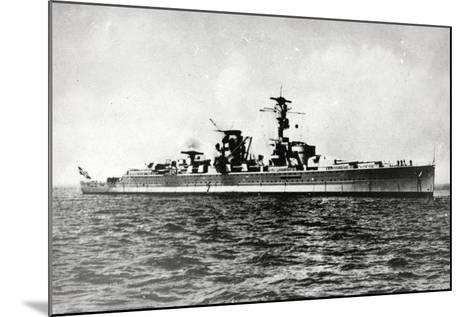 Heavy Cruiser Admiral Scheer--Mounted Photographic Print