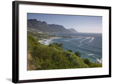 Camps Bay and Twelve Apostles Mountains--Framed Art Print