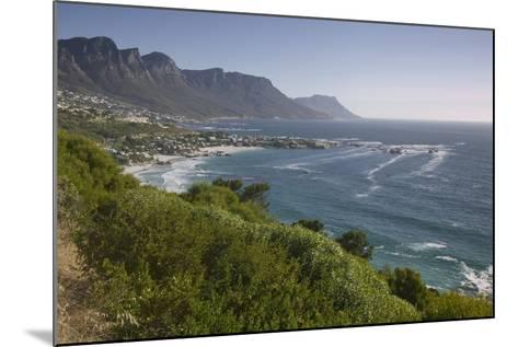 Camps Bay and Twelve Apostles Mountains--Mounted Photographic Print