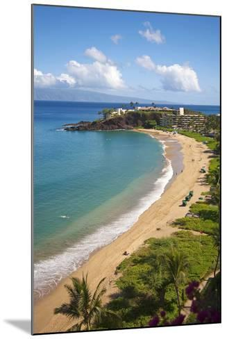 Sheraton Maui Resort and Spa, Kaanapali Beach, Famous Black Rock known for it's Snorkeling-Ron Dahlquist-Mounted Photographic Print