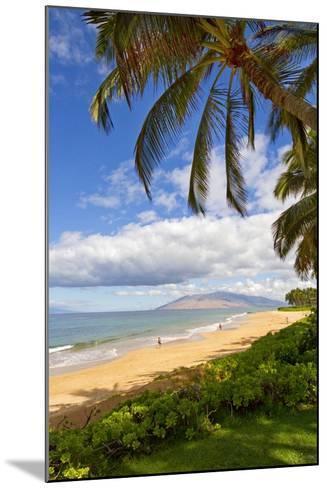 Keawakapu Beach, Wailea on Island of Maui, Hawaii-Ron Dahlquist-Mounted Photographic Print