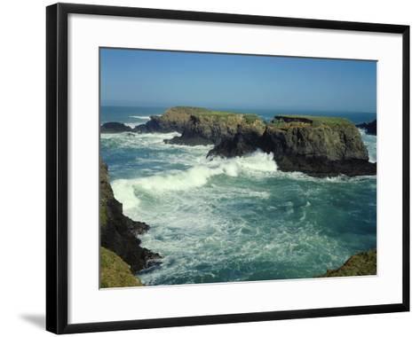 Mendocino Coast, CA-James Randklev-Framed Art Print