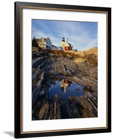 Pemaquid Lighthouse-James Randklev-Framed Art Print