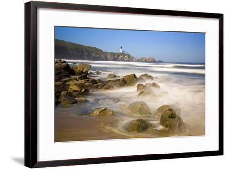 Yaquina Head Lighthouse-Craig Tuttle-Framed Art Print
