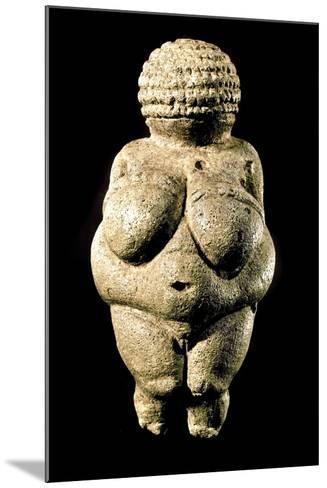 Venus of Willendorf--Mounted Photographic Print