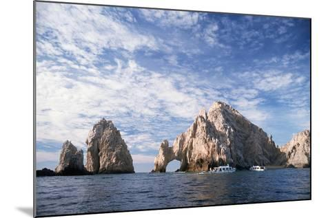 Rock Formations at Cape San Lucas-Neil Rabinowitz-Mounted Photographic Print
