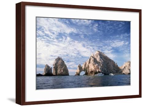 Rock Formations at Cape San Lucas-Neil Rabinowitz-Framed Art Print