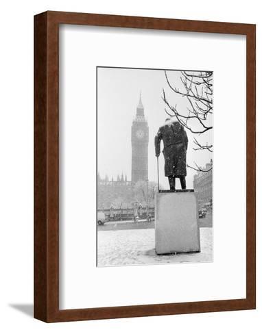 Winston Churchill by Ivor Roberts-Jones--Framed Art Print