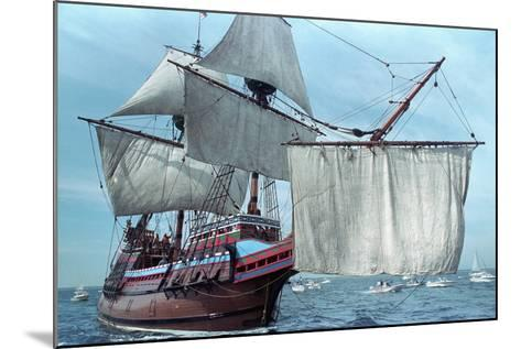 Mayflower II at Sea--Mounted Photographic Print