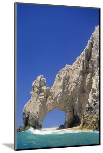El Arco, Sea Arch at Cabo San Lucas-Kerrick James-Mounted Photographic Print