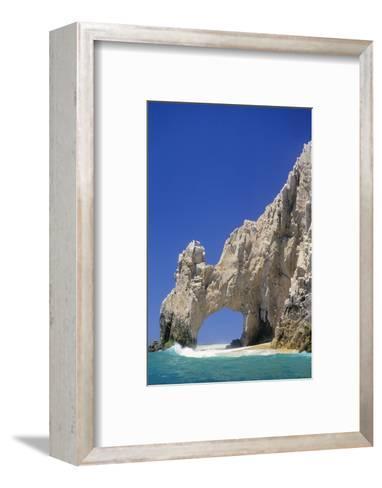 El Arco, Sea Arch at Cabo San Lucas-Kerrick James-Framed Art Print