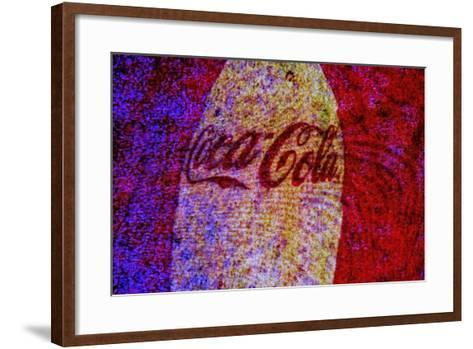 Coca-Cola-Andr? Burian-Framed Art Print