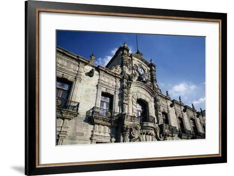 Guadalajara's Palacio De Gobierno-Danny Lehman-Framed Art Print