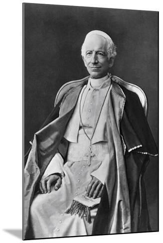 Pope Leo XIII--Mounted Photographic Print