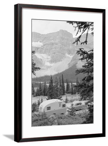 Crowfoot Glacier from Icefields Parkway-Philip Gendreau-Framed Art Print