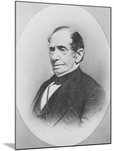 Portrait of Johns Hopkins--Mounted Photographic Print