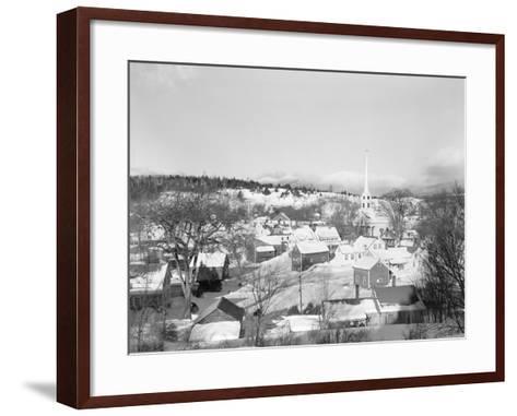 Stowe in Winter-Philip Gendreau-Framed Art Print