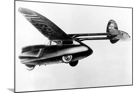 Flying Car--Mounted Photographic Print