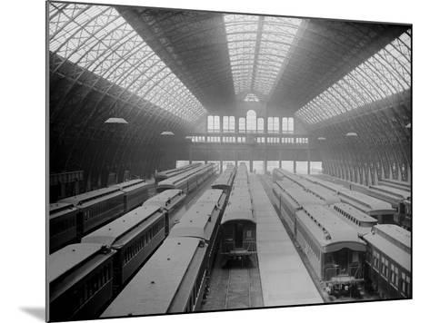 Interior of Grand Central Station--Mounted Photographic Print