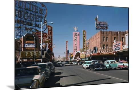 Las Vegas Street Scene-Philip Gendreau-Mounted Photographic Print