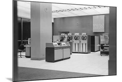 IBM Computers and Office Area-Philip Gendreau-Mounted Photographic Print