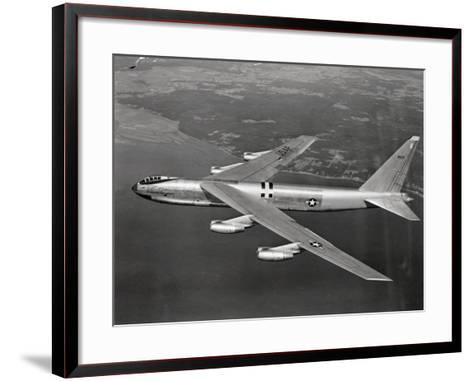US Airforce 8 Jet B-52 Stratofortress Flying--Framed Art Print