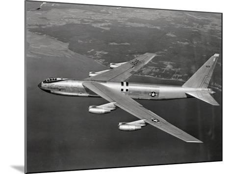 US Airforce 8 Jet B-52 Stratofortress Flying--Mounted Photographic Print