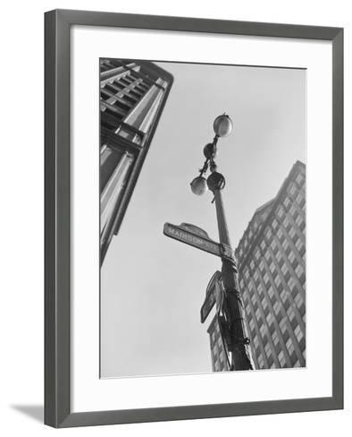 View of Madison Avenue in New York City-Philip Gendreau-Framed Art Print