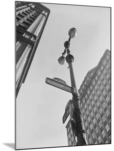View of Madison Avenue in New York City-Philip Gendreau-Mounted Photographic Print