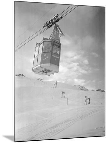 A Cable Railway-Gerhard P. Seinig-Mounted Photographic Print