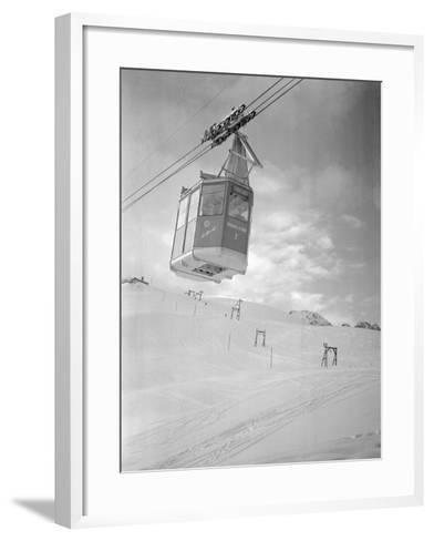 A Cable Railway-Gerhard P. Seinig-Framed Art Print