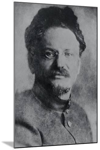 Portrait of Leon Trotsky--Mounted Photographic Print