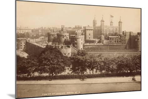 Tower of London--Mounted Photographic Print