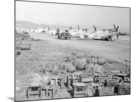 View of Military Armament Field--Mounted Photographic Print