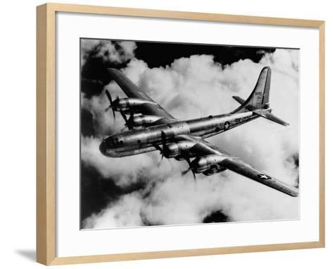 Boeing B-50A Superfortress in Flight--Framed Art Print