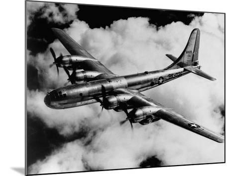 Boeing B-50A Superfortress in Flight--Mounted Photographic Print