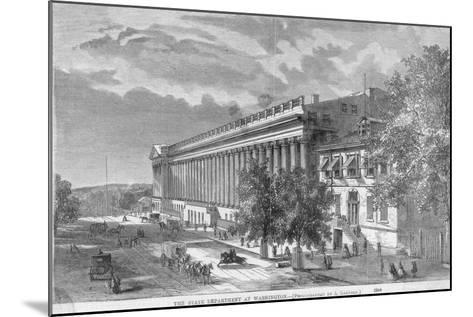 State Department at Washington--Mounted Photographic Print