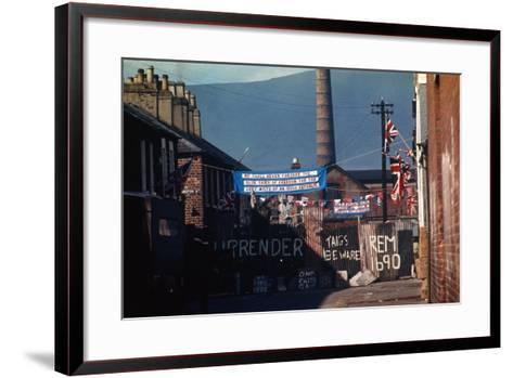 Barricade Erected by Belfast Protestants 1969--Framed Art Print