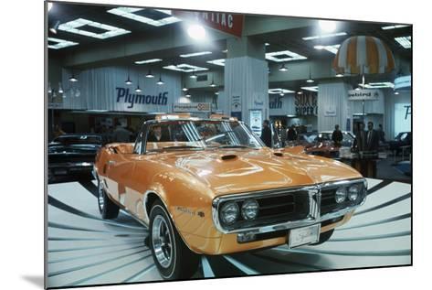 Pontiac Firebird at New York Auto Show--Mounted Photographic Print