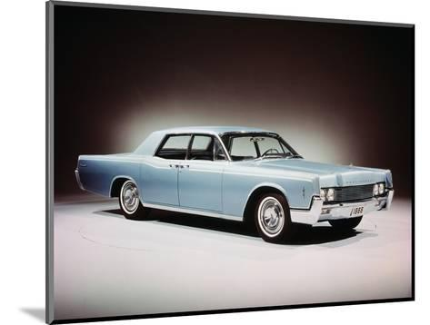 1966 Lincoln Continental Four Door Sedan.--Mounted Photographic Print
