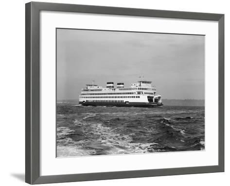 The Elwha on Puget Sound-Ray Krantz-Framed Art Print