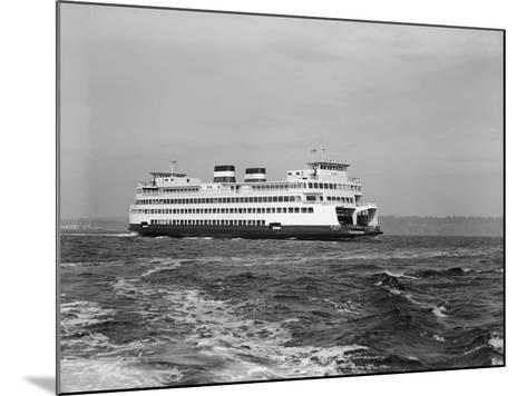The Elwha on Puget Sound-Ray Krantz-Mounted Photographic Print