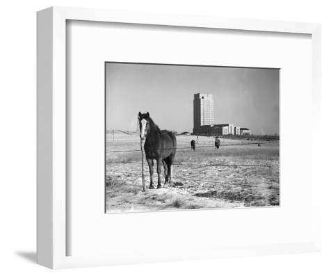 State Capitol-John Vachon-Framed Art Print